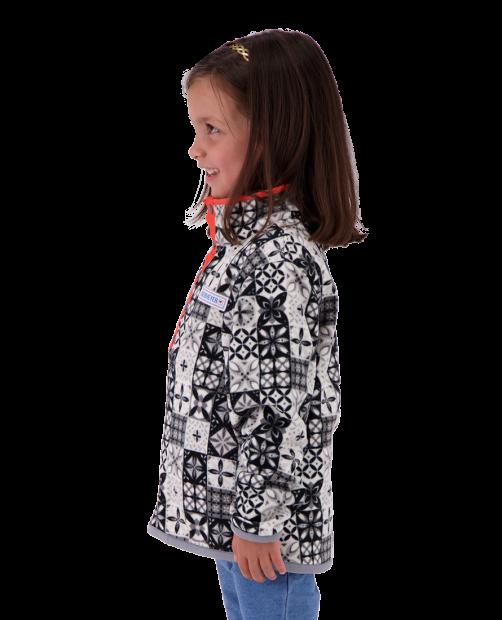 Kid's Boulder Fleece - Talavera Tile, XS