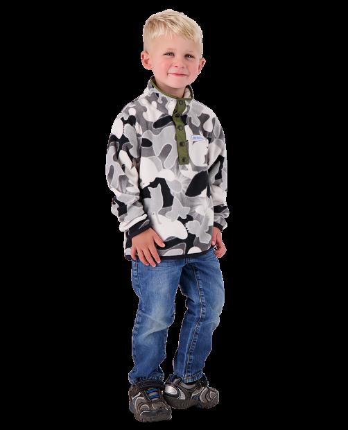 Kid's Boulder Fleece - Critters Only C, XS