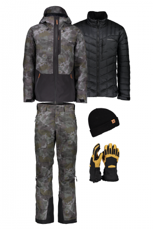 Men's Chandler Off-Duty Camo Outfit