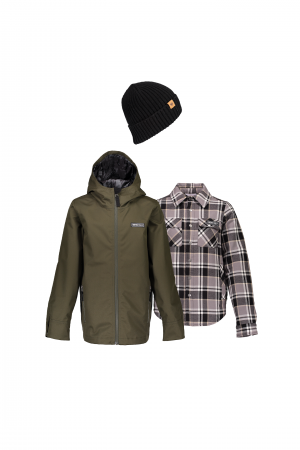 Teen Boys' No 4 Shell Off-Duty Outfit