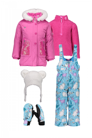 Kid Girls' Sparkle-Girl Outfit