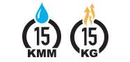 15K/15K Waterproof Breathable