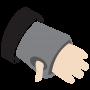 Thumbhole cuffs